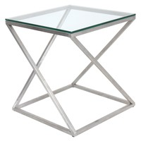 4Z End Table Clear