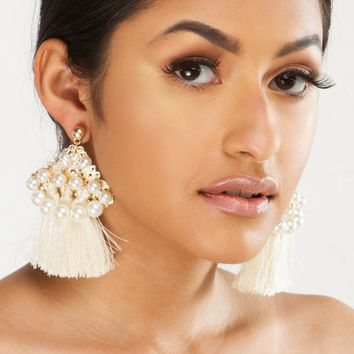 HAVANA TASSEL EARRING - What's New
