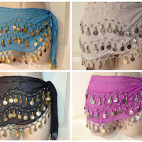 Coin Scarf Skirts