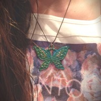 Butterfly Necklace from Follow The Sun