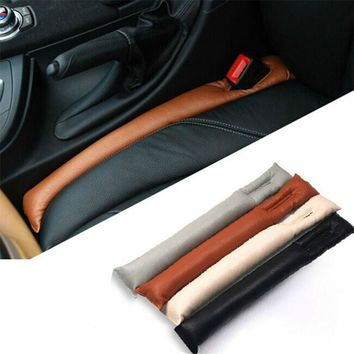 CAR ACCESSORIES SPACER FILLER PADDING FAUX LEATHER CAR SEAT PAD GAP FILLER HOLSTER.