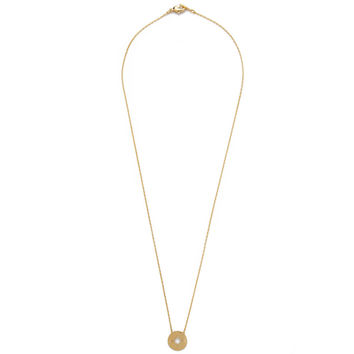 Going Places Pendant Necklace (Gold)