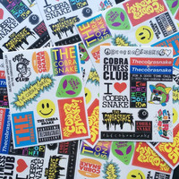 THE COBRASNAKE STICKER PACK