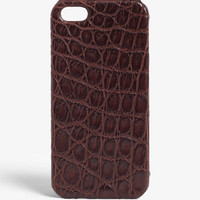 The Case Factory Alligator iPhone 5/5s Case