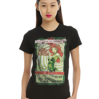 DC Comics Poison Ivy Carnival Of Criminals Girls T-Shirt