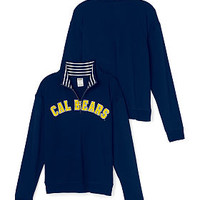 University of California Berkeley Boyfriend Half Zip - PINK - Victoria's Secret