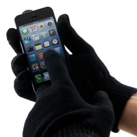 Boho Tronics Universal Smart Phone Touch Screen Texting Gloves for smartphones and tablets.