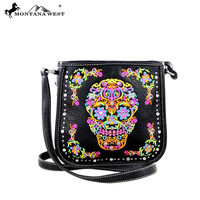 Montana West Sugar Skull Crossbody Purse