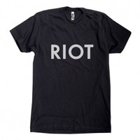 Always Sunny Black RIOT T-Shirt