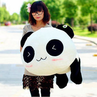 Kawaii Plush Doll Toy Animal Giant Panda Pillow Stuffed Bolster Gift 70CM 28""