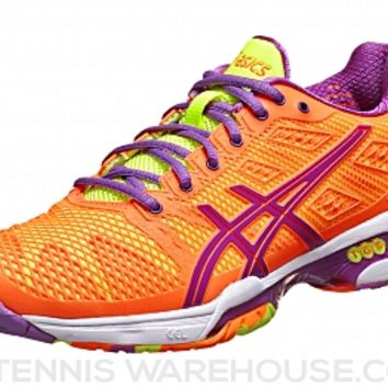 Asics Gel Solution Speed 2 Orange/Lavender Women Shoes