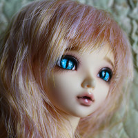 BJD eyes available in 12/14/16/18/20/22/24mm Sapphire Marbled Cat  made to order