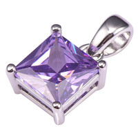Hot Sale Amethyst Pendant 925 Sterling Silver Free Shipping Newest Fashion Attractive Jewelry Pendant PP44