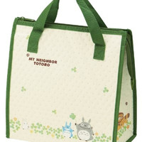 Totoro Design Reusable Bento Box Lunch Bag with Thermal Linning