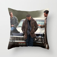 Supernatural Throw Pillow by Artechniq