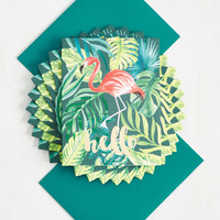 How's the Feather Out There? Notecard Set | Mod Retro Vintage Desk Accessories | ModCloth.com