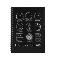 """History of art"" notebook"