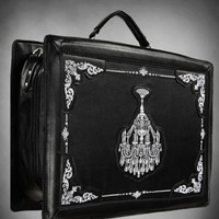 Chandelier Satchel Suitcase - Tragic Beautiful buy online from Australia