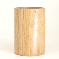 Pencil Cup Handcrafted in Honey Locust