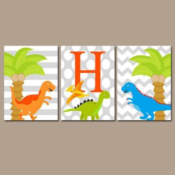 DINOSAUR Decor  Dinosaur Birthday Gift  Dinosaur Gift for Boy  Dino Baby Shower  Dinosaur Party Props  Dinosaur Theme Decorations Set of 3