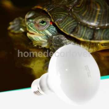 E27 Daylight Heat Light Bulb Reptile Terrarium UVA Lamp lizards, tortoise 220V-240V 25w -100w Choice