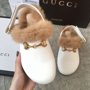 GUCCI flat bottom Mao Maotuo