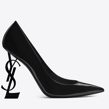 YSL Yves Saint Laurent Hot Sale Women Fashion Pointed High Heels Shoes Sandals 1#