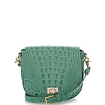 Brahmin - Sienne Crocodile-Embossed Leather Crossbody Bag