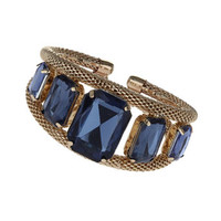 Blue Stone Cuff - Accessories - New In