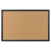 Home Décor Cork Board with MDF Frame - Desert Tan