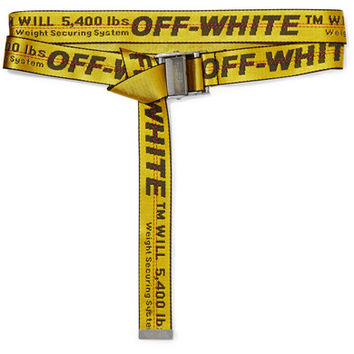 Off-White - Canvas-jacquard belt