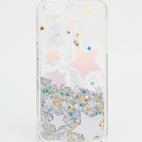 Skinnydip Holographic Star Print iPhone 6/6s Case