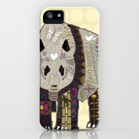 chocolate panda straw iPhone & iPod Case by Sharon Turner