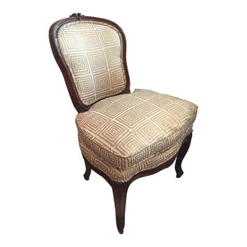 Pre-owned Early 19th C. Louis XVI Slipper Chair