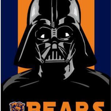 3x5FT NFL Chicago Bears  flag  empire skull  banner custom flags 100D