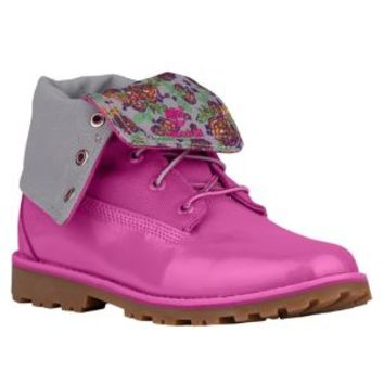 "Timberland 6"" Fold Down Boots - Girls' Grade School"