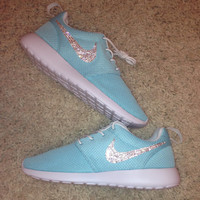 JEWELED NIKE SHOES!