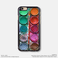 Colorful Paint box iPhone 6 6Plus case iPhone 5s case iPhone 5C case iPhone 4 4S case 364