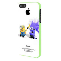 Despicable Me 2 Funny Banana iPhone 5 Case Framed Green