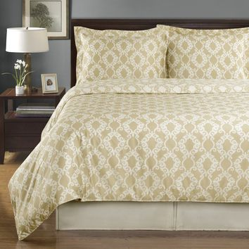 Silky Soft Reversible Duvet Covers 100% Combed cotton