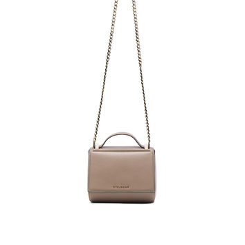 Givenchy Mini Chain Palma Pandora in Mastic | FWRD