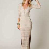 Free People Birkin Contoured Maxi Dress at Free People Clothing Boutique