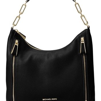 Michael Kors Matilda Large Leather Shoulder Bag