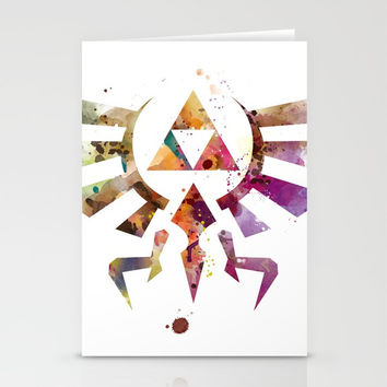 Zelda Stationery Cards by monnprint