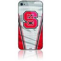 Skinit Protective Skin for iPhone 4/4S - NC State University Silver Jersey