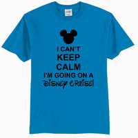 I Can't Keep Calm I'm Going On A Disney Cruise - Youth T-Shirt