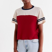 Project Social T Football Tee   Urban Outfitters