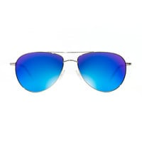 Oliver Peoples Electric Blue Benedict Sunglasses