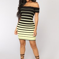 Cailyn Mini Dress - Yellow