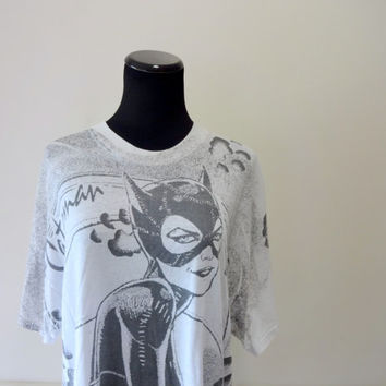 Vintage Batman Returns Catwoman T-Shirt 1992